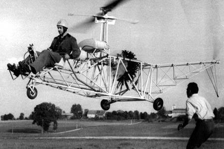 1er hélicoptère