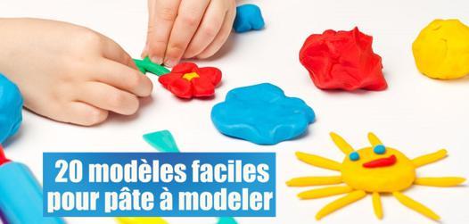 activité pate à modeler