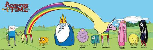 adventure time personnages