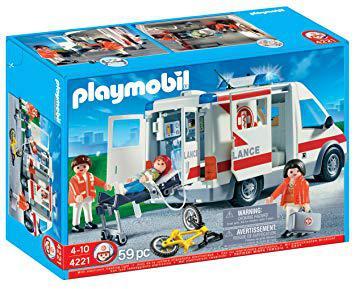 ambulance playmobil 4221