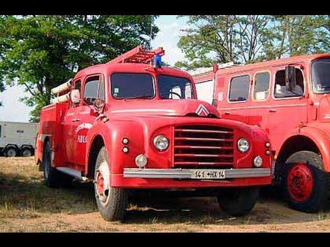 ancien camion pompier