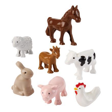 animaux de la ferme en jouet