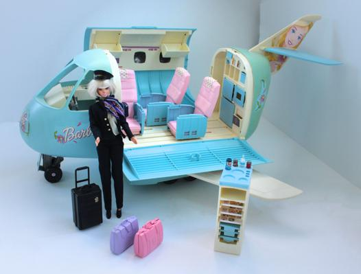 avion de barbie
