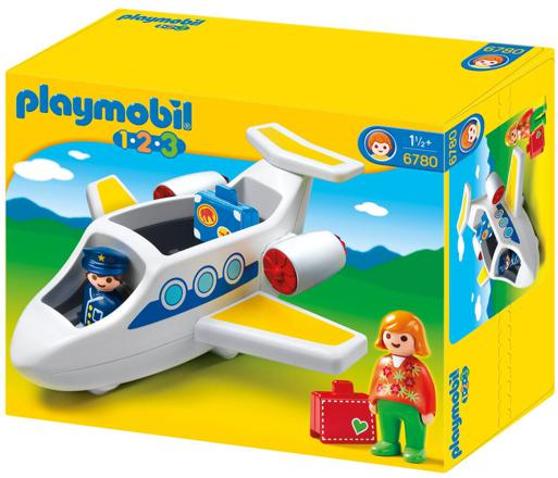 avion playmobil 123
