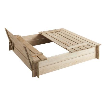 bac à sable en bois