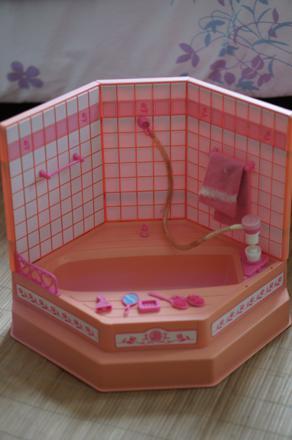 baignoire barbie