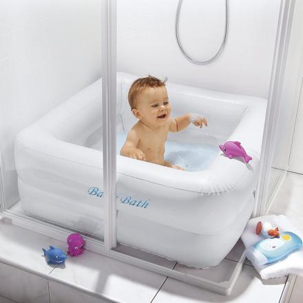 bain bébé douche