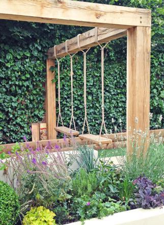 balancoire garden