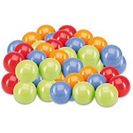 balles multicolores
