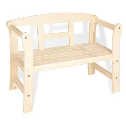 banc en bois enfant