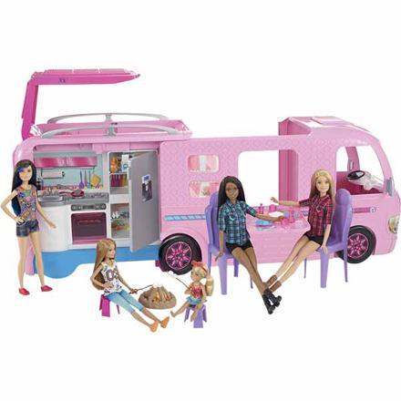 barbie au camping