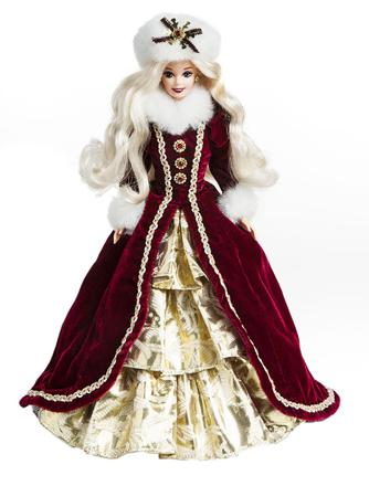 barbie de collection de noel