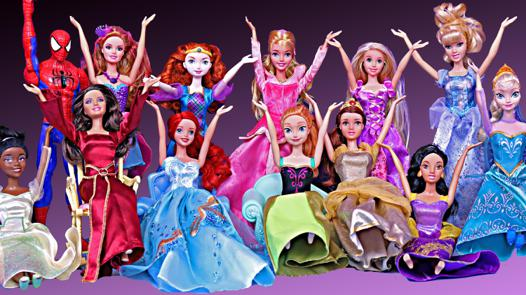 barbie disney princesse