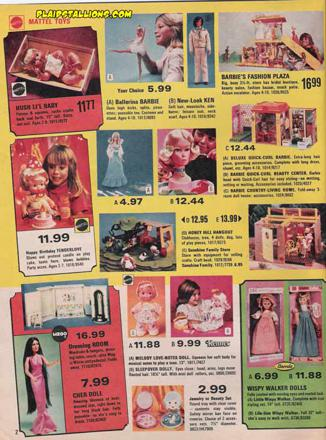 barbie doll catalog