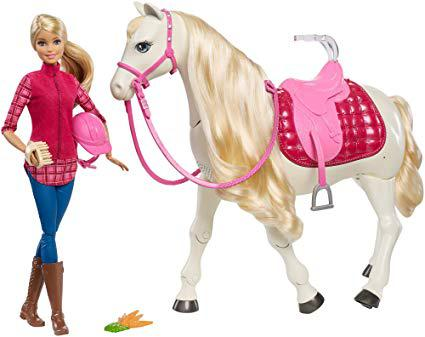 barbie dream horse