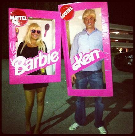 barbie et ken deguisement