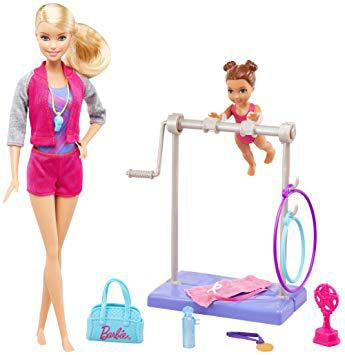 barbie gymnastique