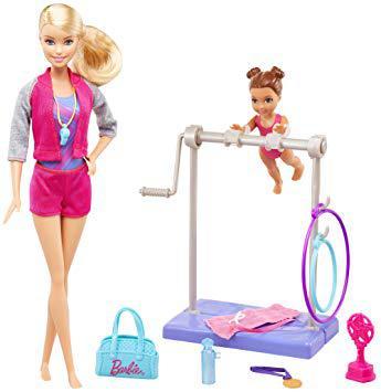 barbie gymnastique