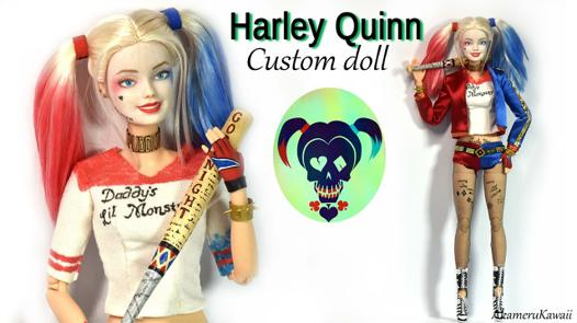barbie harley quinn
