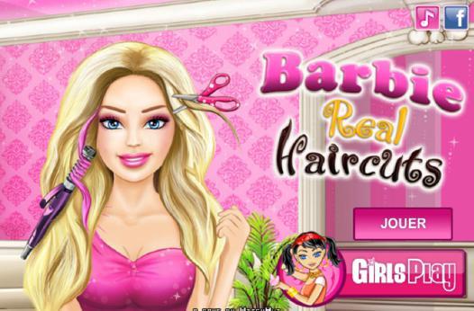 barbie jeux coiffure