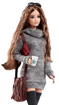 barbie look hipster
