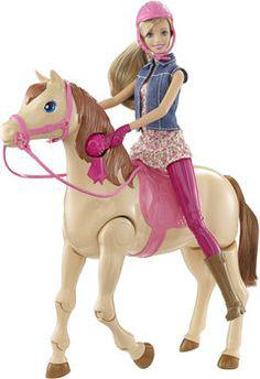 barbie monte a cheval