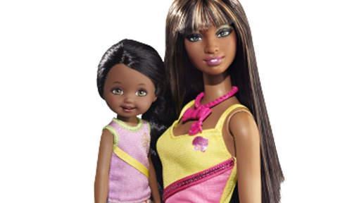 barbie noire mattel