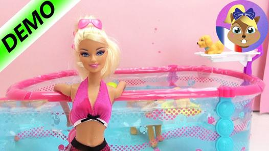 barbie piscine
