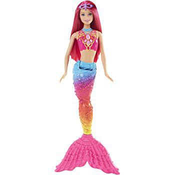 barbie sirene arc en ciel