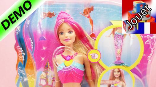 barbie sirene qui nage