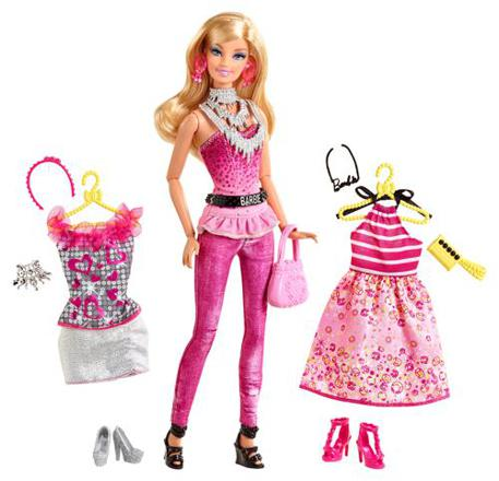 barbie tenue
