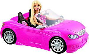 barbie voiture decapotable