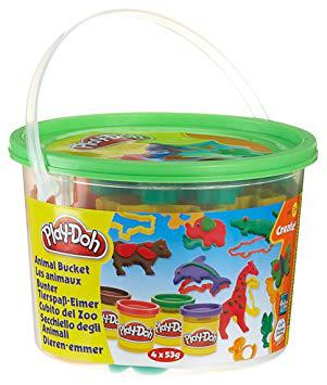 baril des animaux play doh