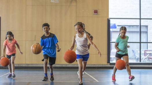 basket pour jouer au foot