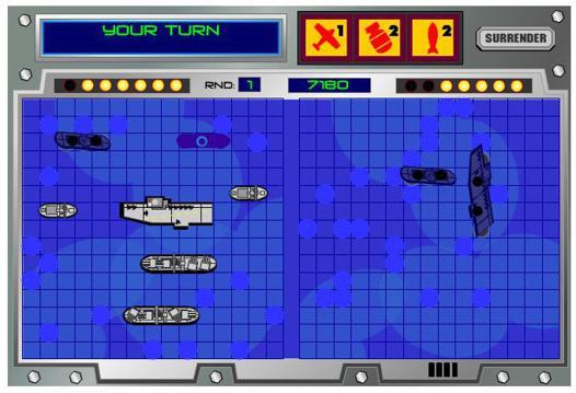 bataille navale en ligne 2 joueurs