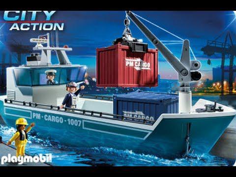 bateau en playmobil