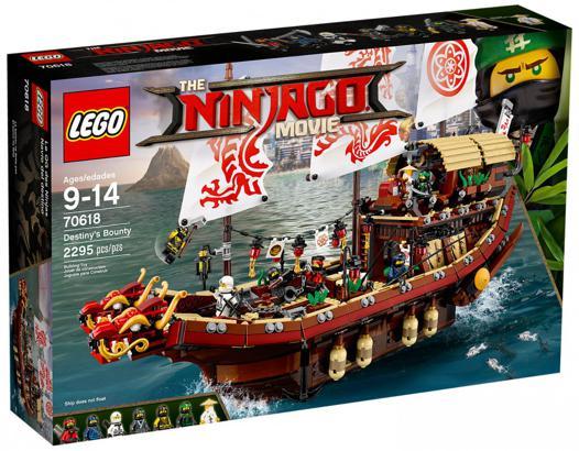 bateau lego ninjago