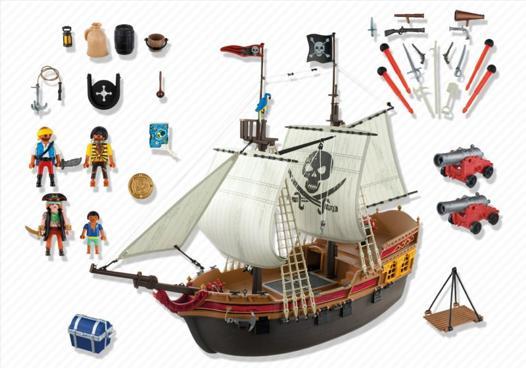 bateau pirate 5135