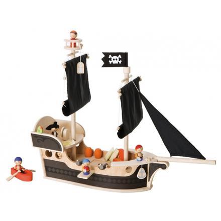 bateau pirate bois jouet