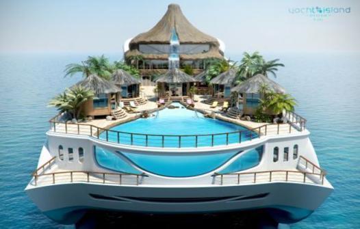 bateau piscine