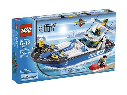 bateau police lego