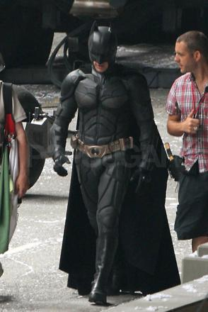 batman on set