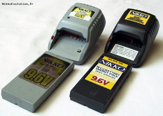 batterie voiture radiocommandée nikko