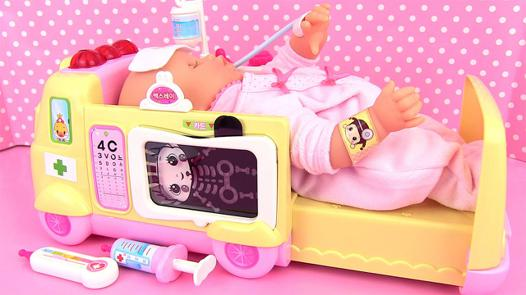 bébé corolle malade