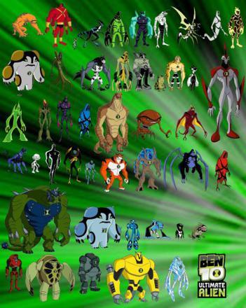 ben 10 tous les aliens