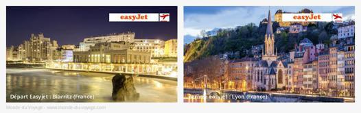 biarritz lyon en avion