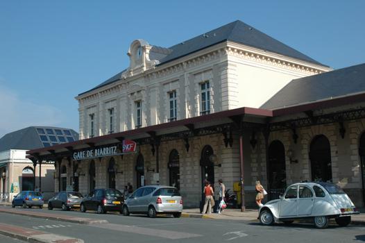 biarritz train