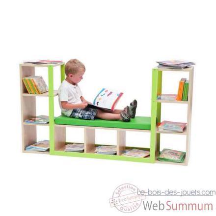bibliotheque bebe meuble