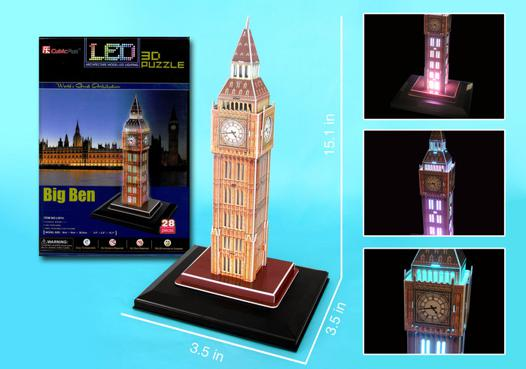 big 3d puzzles