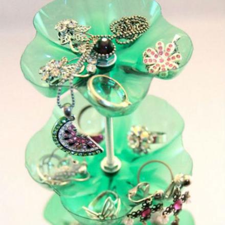 bijoux bouteille plastique